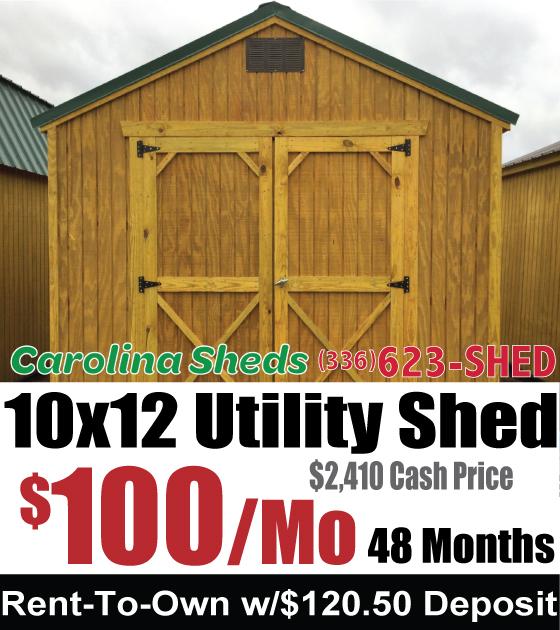 Carolina Sheds Amp Sheds Of Eden Shop For Wood Sheds In